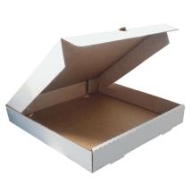 Короб Пицца-бокс, белый, Т-23, профиль В